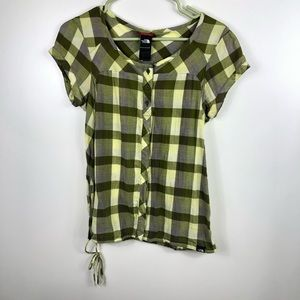 The North Face Button Up Drawstring Shirt